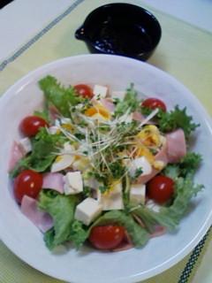 ピリ辛★豆腐の中華サラダ