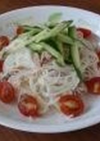 簡単☆サラダ素麺