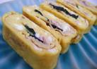 プチリッチ☆豚シソマヨの卵焼き♪