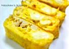 お弁当に♪ちぎりチーズとツナの卵焼き