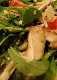 フレッシュポルチーニ茸のサラダ