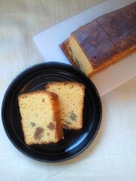 イチジクとくるみの糖蜜パウンドケーキ