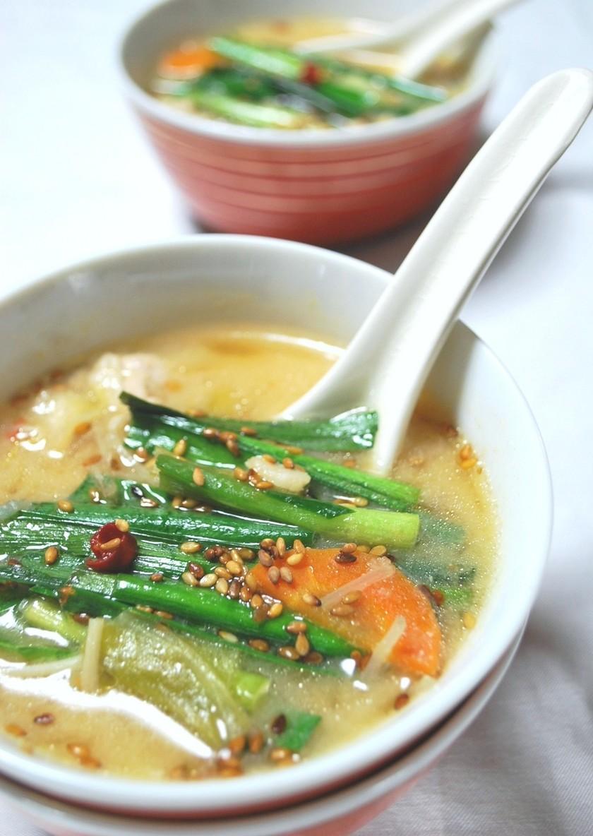 美味しいスープ~中華風☆白味噌仕立て~