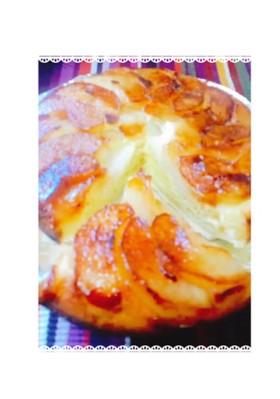 本当に簡単♪∞お鍋で梨のタルトタタン∞