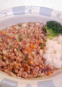 犬ご飯(チンジャオロース丼)