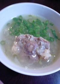 牛テールスープ(圧力鍋使用)