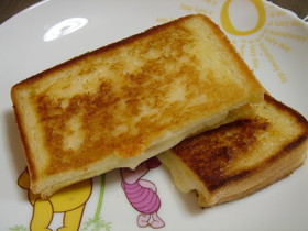 フライパンでホットサンド☻簡単朝食ランチ