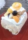フルーツいっぱい★ノエル風アイスケーキ