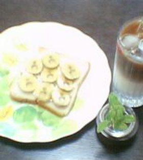 簡単メープルバナナトースト