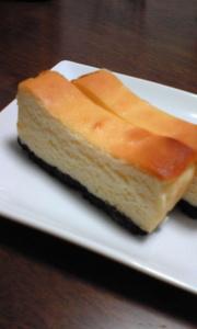 簡単・濃厚☆ベイクドチーズケーキの写真