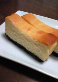 簡単・濃厚☆ベイクドチーズケーキ