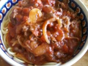 ◆牛肉のトマトスープパスタ◆