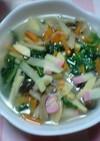 野菜たっぷりラーメン