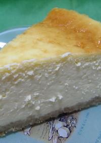 豆乳で作るニューヨークチーズケーキ