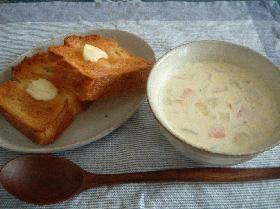 春のさっぱりスープ