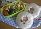 お弁当に☆ランチパック風サンドイッチ☆