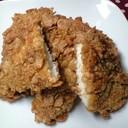超香ばしい!『鶏胸肉の玄米フレーク焼き』
