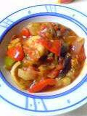 夏野菜のトマト煮こみ*カポナータ*