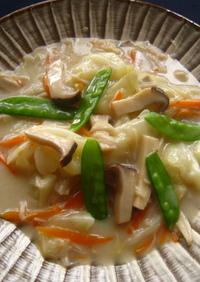 ほっこり温か帆立と野菜のクリーム煮