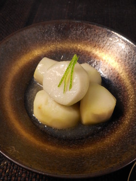 すだち風味・里芋の味噌煮