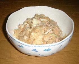 ポテトチップのサラダ