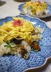 きざみ鰻と紫蘇の香り寿司
