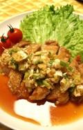 葱が1本食べられる油淋鶏(ユウリンチィ)