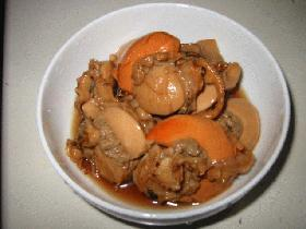ホタテの煮物