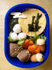 お月見☆弁当の写真
