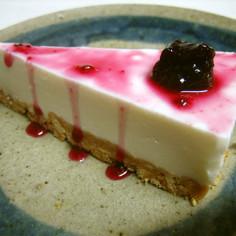 簡単★濃厚★レアチーズケーキ