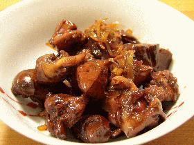 美味しくダイエット☆鶏レバーの甘辛煮