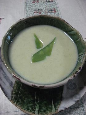 さやえんどうのポタージュスープ