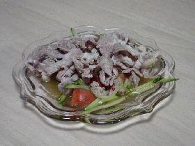 冷しゃぶ中華風サラダ