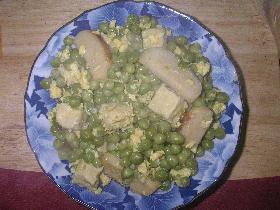 えんどう豆の煮物