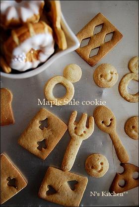 メープル サレ クッキー