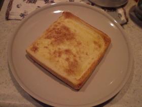 マヨとお砂糖のトースト。
