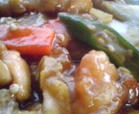 鶏肉と白菜の中華炒め
