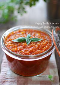 トマト缶でトマトソースをつくろう♪