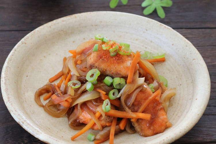 鮭 南蛮 漬け レシピ 人気