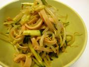 我が家の定番やみつき☆もやしの中華サラダの写真