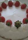 敬老の日に作ったケーキ