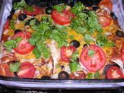 【メキシコ料理】エンチラーダ(ブリトー)の写真