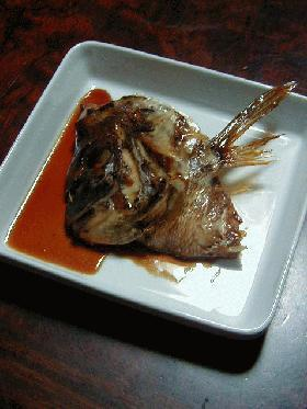 mamakissの私はフライパンで◎鯛のあら炊き◎とおまけの◎鯛のあら汁◎
