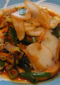 韓国の味☆トッポギ