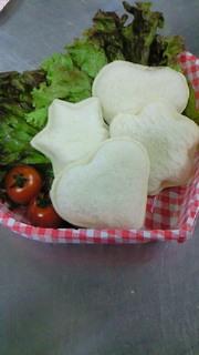 クッキー型で可愛く作るランチパック(改正