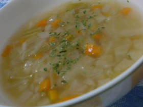 圧力鍋deとろとろヘルシー野菜スープ