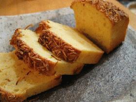 パインとチーズのパウンドケーキ