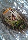 牛肉と野菜のホイル焼き
