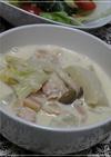 ほっこりあったかカブの豆乳味噌スープ