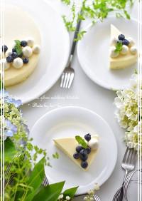 ♡ レアチーズとホワイトチョコムース♡